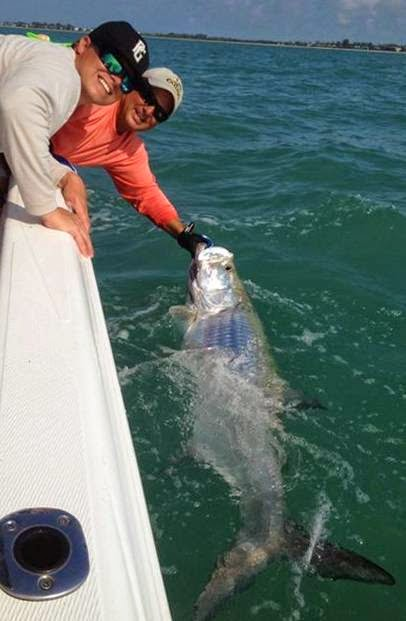 Boca Grande Tarpon fishing 2013