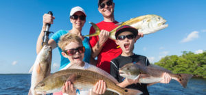 Inshore family fishing Sanibel